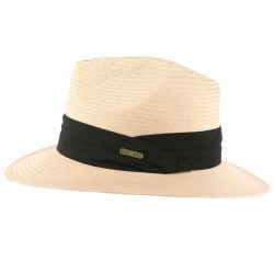 Chapeau de Paille Rose pale Théo CHAPEAUX Léon montane