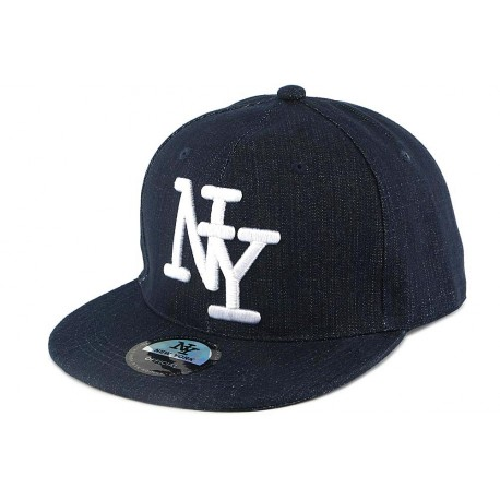 Casquette NY Blue Jeans Bleu Marine ANCIENNES COLLECTIONS divers