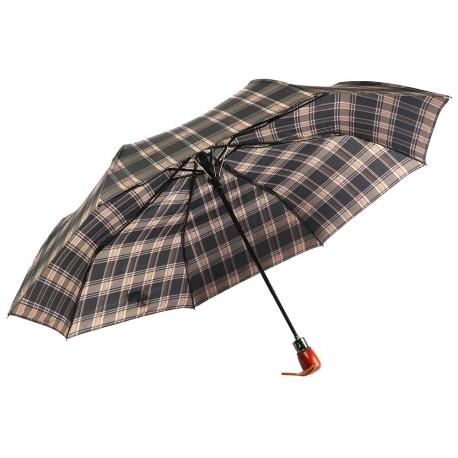 Parapluie Automatique Marron et Noir Fantaisie Parapluie Léon montane