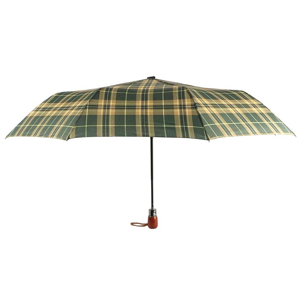 achat parapluie automatique vert et beige fantaisie pas cher livr 48h. Black Bedroom Furniture Sets. Home Design Ideas