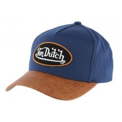 Casquette Baseball Chuck Bleu Von Dutch CASQUETTES VON DUTCH