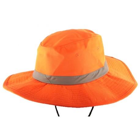 Bob Safari Orange Fluo bande réfléchissante Bob Safari Nyls Création