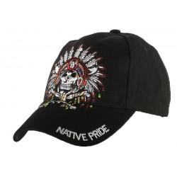 Casquette Biker Native Pride Indien US