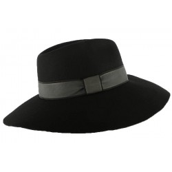 Chapeau Femme Noir Kimberley par Christys London CHAPEAUX Christys' London