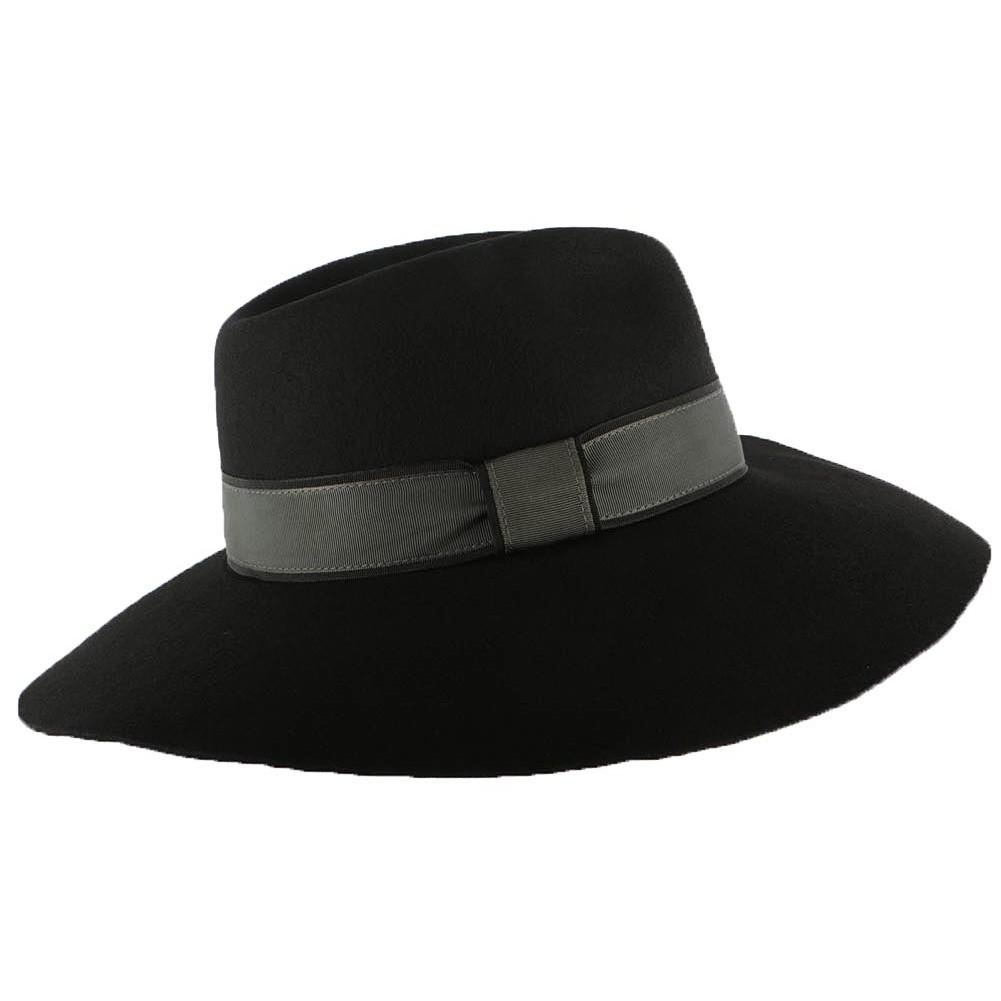 capeline noir mode chapeau fedora femme chic christys livraison 48h. Black Bedroom Furniture Sets. Home Design Ideas