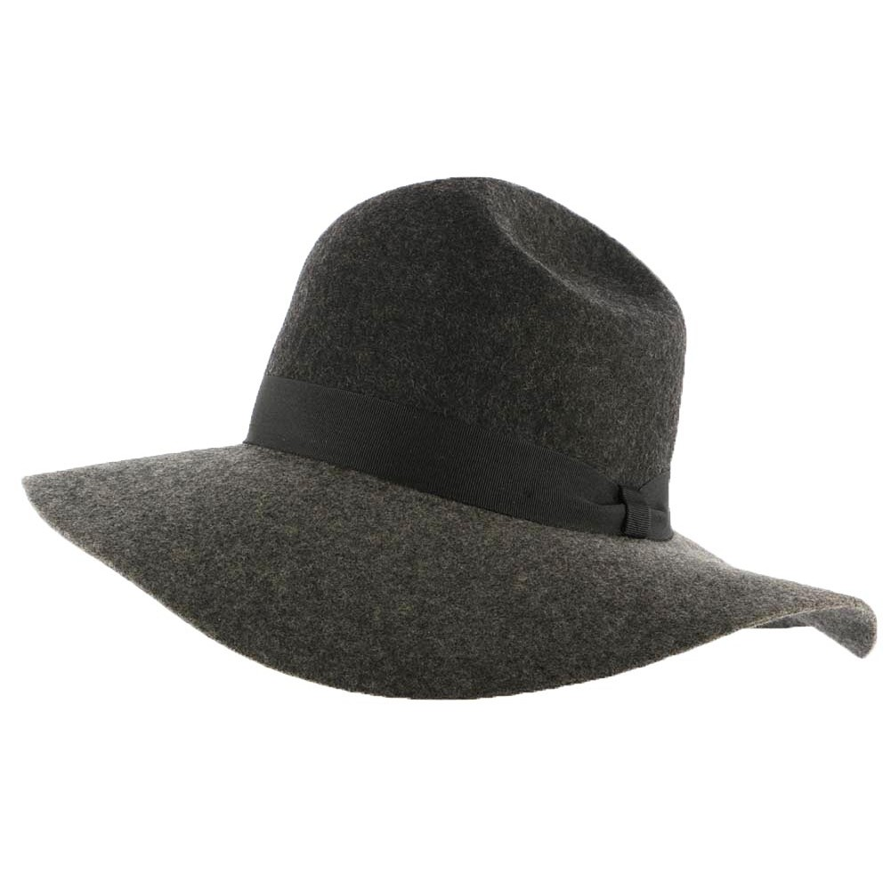 capeline femme grise grand chapeau mode bicolore christys livr 48h. Black Bedroom Furniture Sets. Home Design Ideas