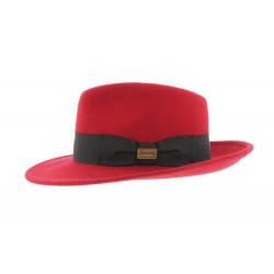 Chapeau Fedora Rouge Goldwin par Herman