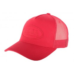 Casquette Baseball Von Dutch Rouge BM