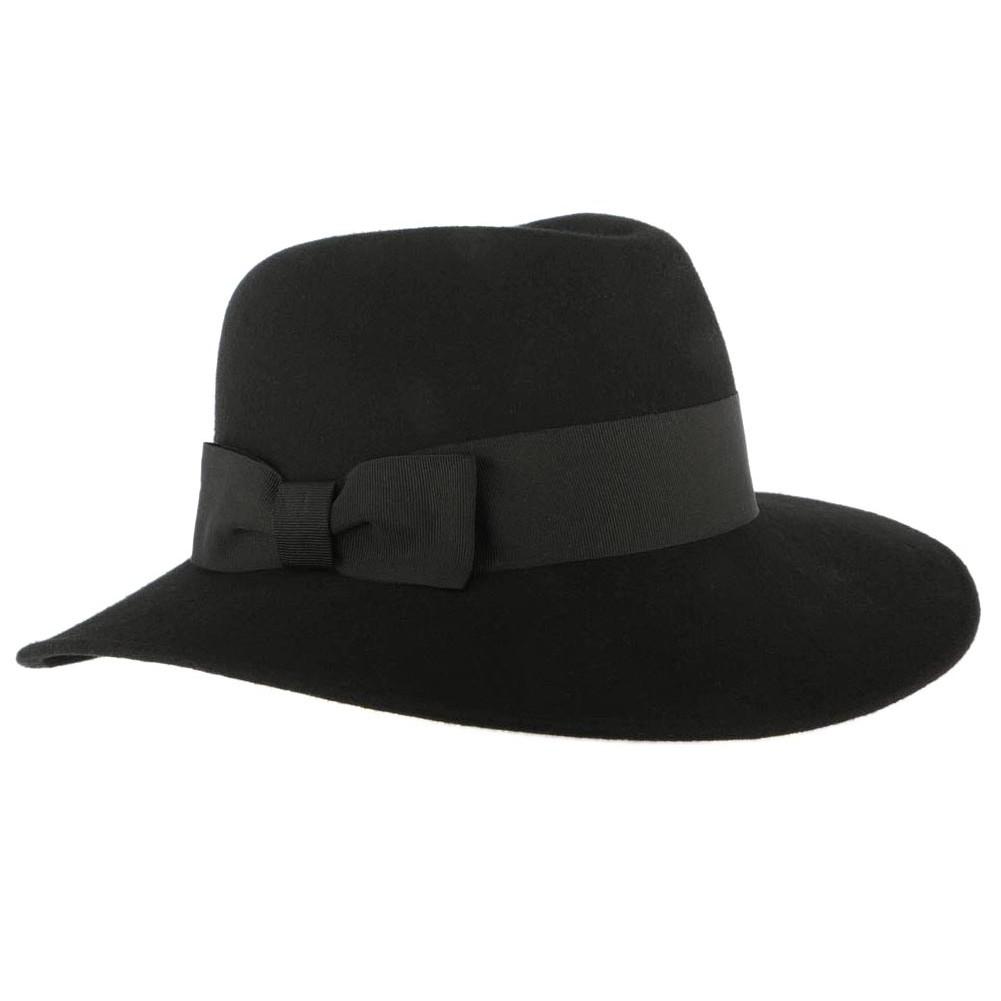 chapeau noir femme stael chapeau femme hiver tendance livraison 48h. Black Bedroom Furniture Sets. Home Design Ideas