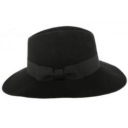 Grand Chapeau Noir Femme Ségur Léon Montane