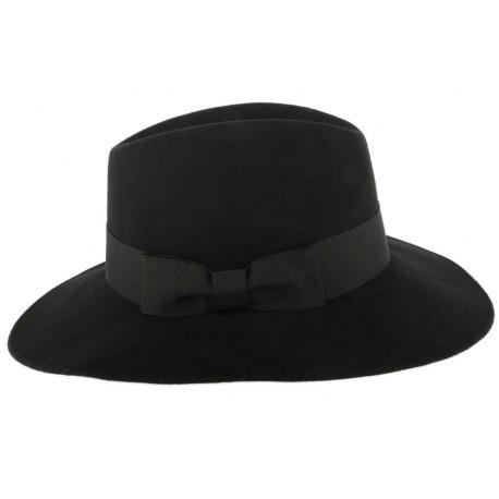 Grand Chapeau Noir Femme Ségur Léon Montane CHAPEAUX Léon montane