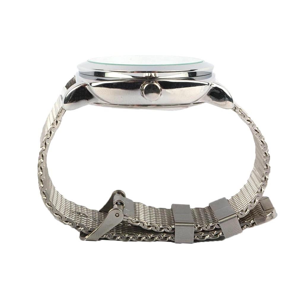 montre homme blanche drach montre bracelet m tal chic livr en 48h. Black Bedroom Furniture Sets. Home Design Ideas