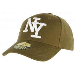 Casquette Baseball NY Vert kaki ANCIENNES COLLECTIONS divers