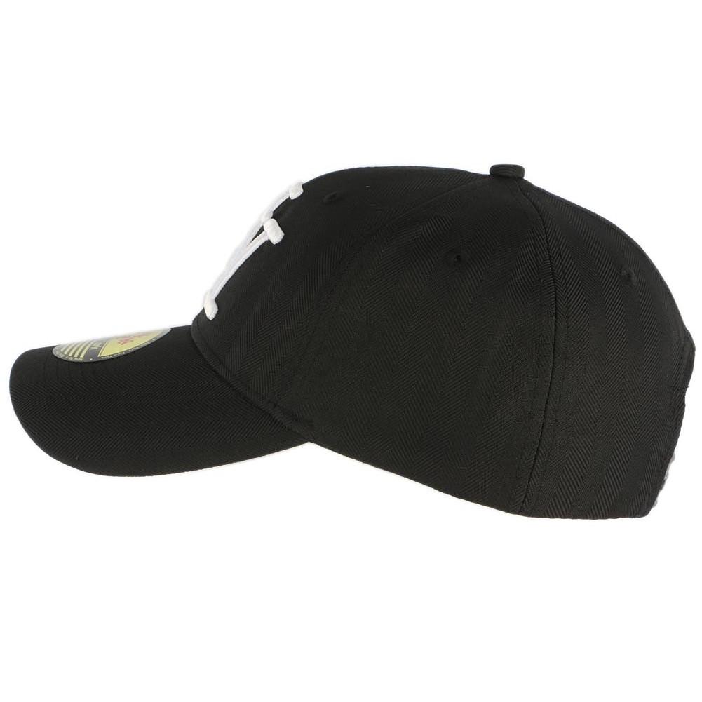 casquette baseball ny noir et blanche casquette curve mode livr 48h. Black Bedroom Furniture Sets. Home Design Ideas
