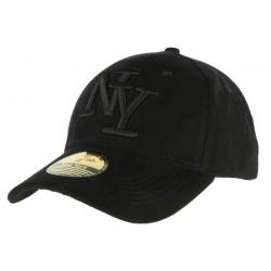 Casquette Baseball NY Noir façon daim ANCIENNES COLLECTIONS divers
