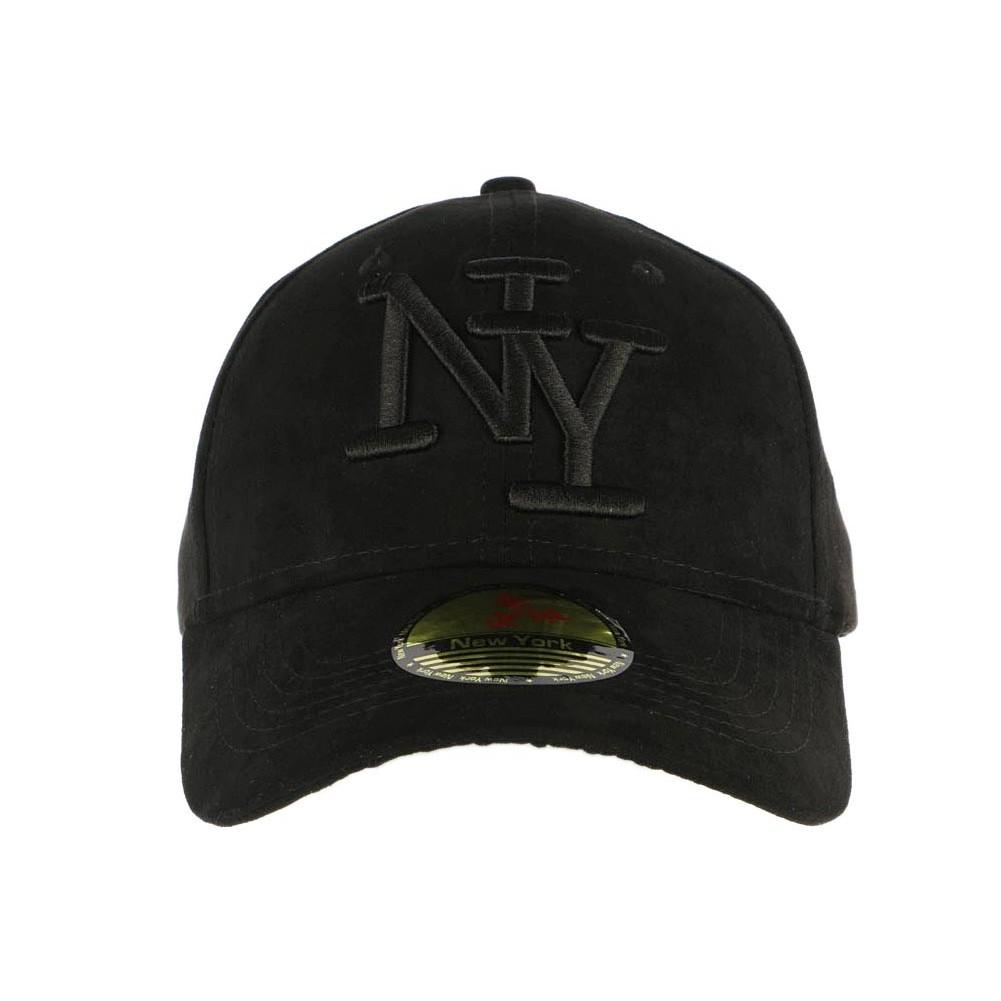 rechercher l'original recherche d'officiel Vente chaude 2019 Casquette NY Enfant Noir Velours, casquette fille et garçon ...