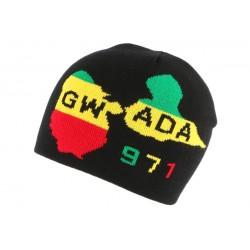 Bonnet noir Gwada 971 BONNETS Nyls Création