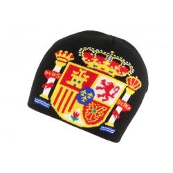 Bonnet Espagne Noir Jaune Rouge BONNETS Nyls Création