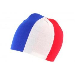 Bonnet Drapeau Français Bleu Blanc Rouge BONNETS Nyls Création
