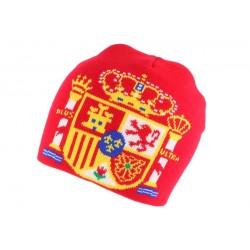 Bonnet Espagne Rouge et Or