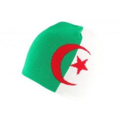 Bonnet Algerie Vert et Blanc