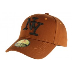 Casquette Baseball Marron NY ANCIENNES COLLECTIONS divers