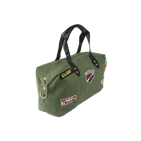 Sac Bandoulière Vert USA Army