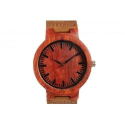 Montre en bois Rouge Bosco Montre GG Luxe