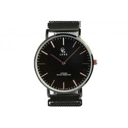 Montre Noire bracelet aimanté Johnstone Montre GG Luxe