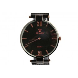 Montre vintage noire Collingwood Montre Bellos