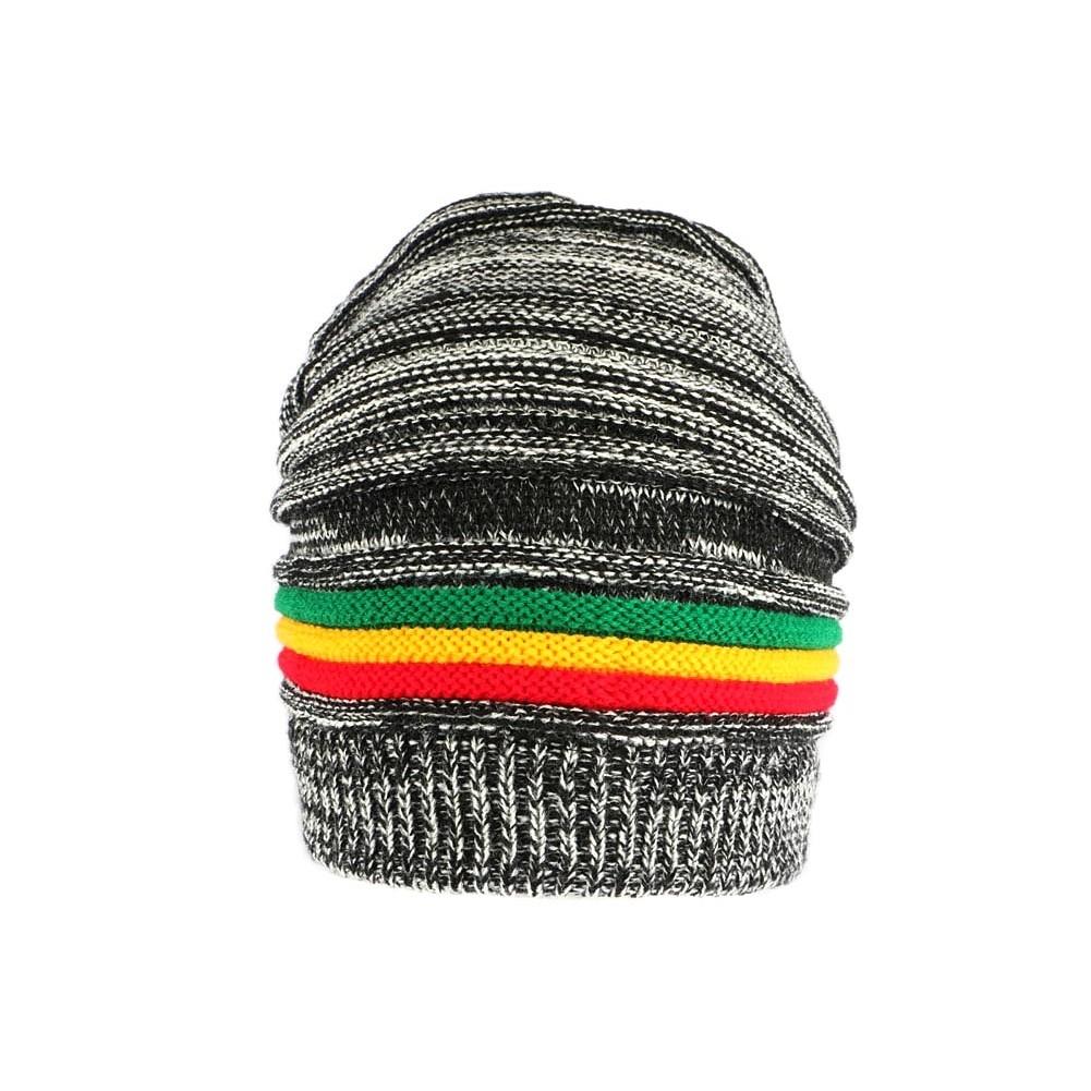 Femme Bonnet Rasta JamaïqueLong 48h Homme Noir Et Blanc Livré nPk0O8w