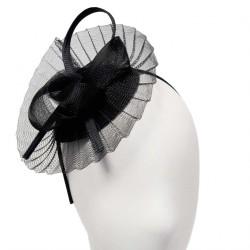 Chapeau Mariage Picpus Noir par Céline Robert