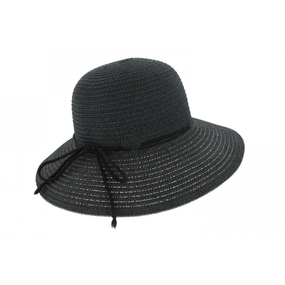 capeline noire t diana par herman chapeau femme t livraison 48h. Black Bedroom Furniture Sets. Home Design Ideas
