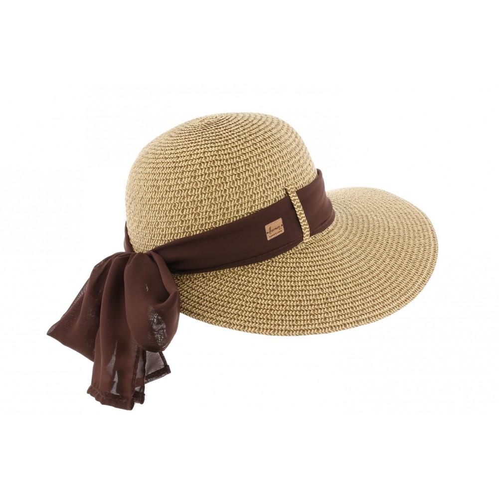 chapeau paille marron ylia herman casquette femme t livraison 48h