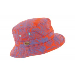 Chapeau bob orange Buck Herman