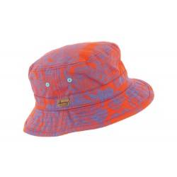 Chapeau bob orange Buck Herman