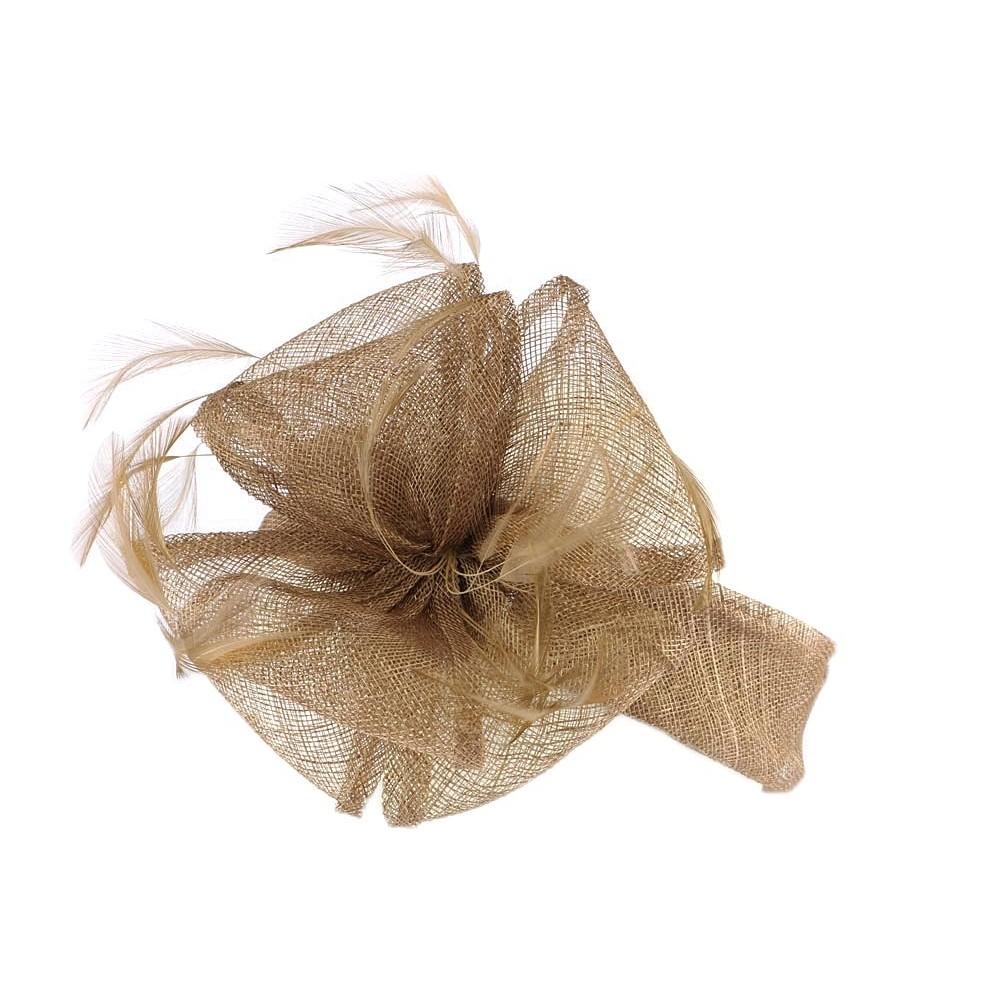 serre tete mariage marron helya bandeau ceremonie tendance livr 48h. Black Bedroom Furniture Sets. Home Design Ideas