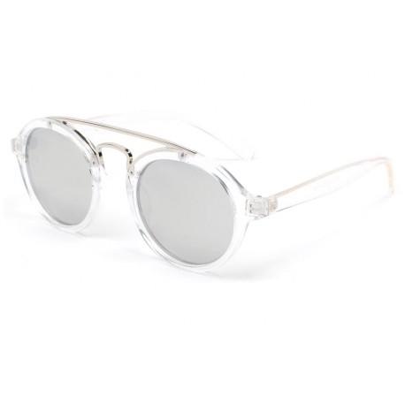 Lunettes de soleil transparente miroir Xenk, lunette fashion livré 48h 2ab2070d00bc