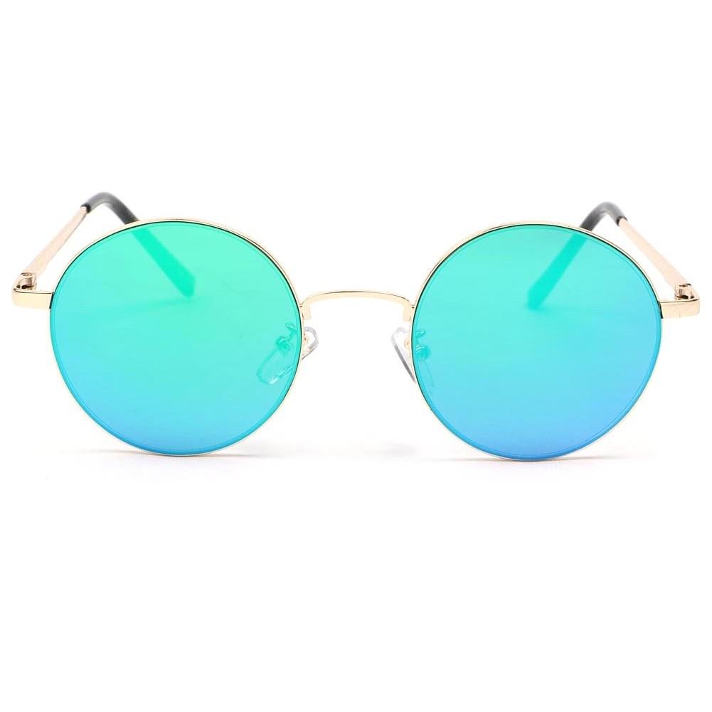 Lunette de soleil miroir bleu obladi lunette soleil ronde for Lunette soleil verre bleu miroir