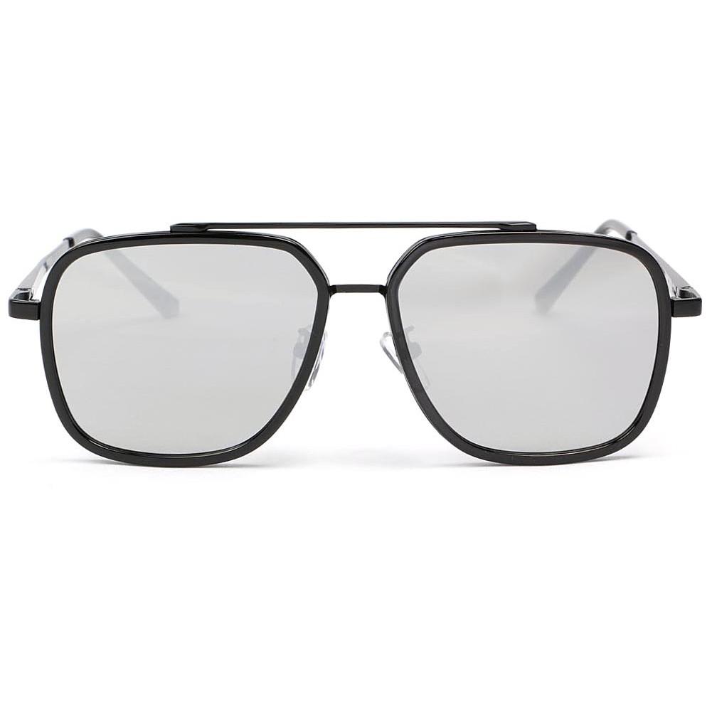 lunette soleil effet miroir argent psyk lunette soleil mode livr 48h. Black Bedroom Furniture Sets. Home Design Ideas