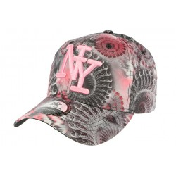 Casquette Baseball Grise et Rose Psycircus ANCIENNES COLLECTIONS divers