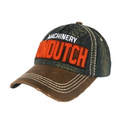 Casquette Von Dutch Bleu Denim Donald ANCIENNES COLLECTIONS divers