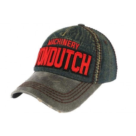 Casquette Von Dutch Grise Denim Donald CASQUETTES VON DUTCH