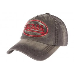 Casquette Von Dutch Grise Tim ANCIENNES COLLECTIONS divers