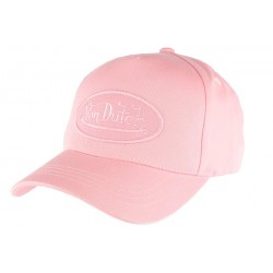 Casquette Von Dutch rose RB
