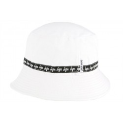 Chapeau bob blanc Just Hype Taped