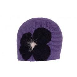 Bonnet Paros court violet BONNETS Léon montane