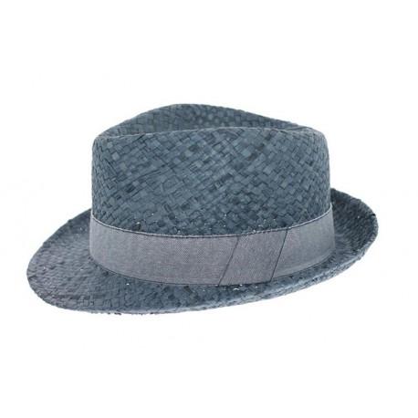 Chapeau de paille Jagger Bleu