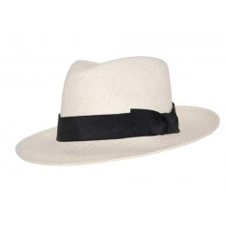 Chapeau panama Prestwick ecru Chapeau panama Léon montane