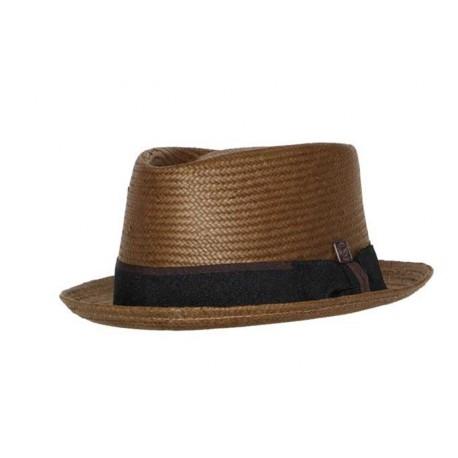 Chapeau de paille Havana Tabac Taille 58